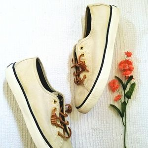 🍃Sperry Top-sider Seacoast Ivory Sneakers